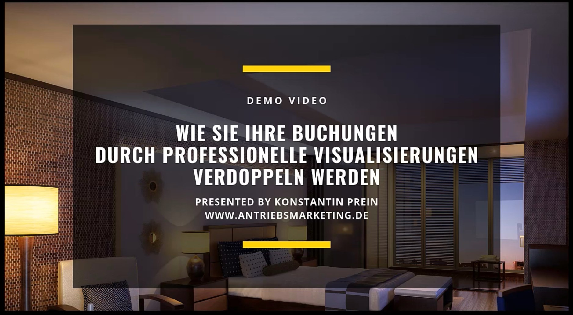Demo Video Rundgang Hotel